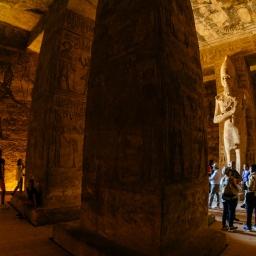 The Temples At Abu Simbel