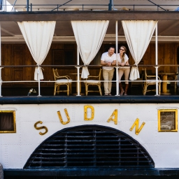 Sailing Down The Nile On The Steam Ship Sudan