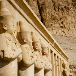 The Mortuary Temple of Hatshepsut at Deir el-Bahari