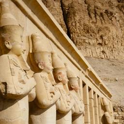 The Mortuary Temple of Hatshepsut at Deir el-Bahari